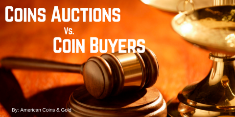 Coin Auctions Vs. Coin Buyers, Carle Place, New York