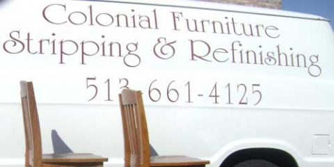 Cincinnati And The Tri State Areas Premier Furniture Stripping And  Refinishing Company. Colonial Furniture Stripping ...