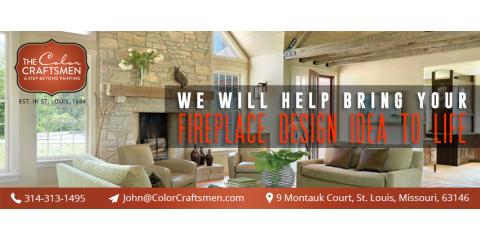 The Color Craftsmen, Fireplaces, Services, Saint Louis, Missouri