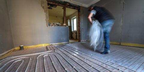 What Is a Radiant Floor Heating System?, Columbia Falls, Montana