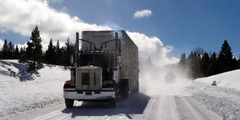 3 Tips for Driving a Truck During Winter, Columbia, Ohio