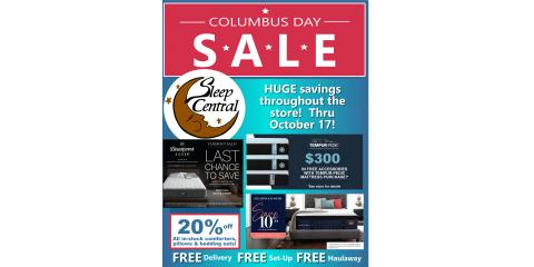 Columbus Day Mattress Sale Going on Now!, Minocqua, Wisconsin