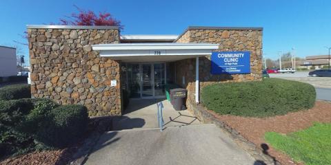 Team Members Volunteer at the High Point Community Clinic, Greensboro, North Carolina