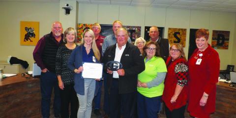 GISD Board Honors Coryell Health, Gatesville, Texas