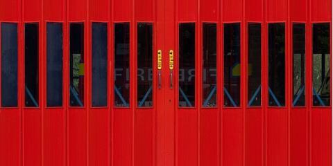 Commercial Garage Door Texture st. louis door experts explain 4 types of commercial garage doors