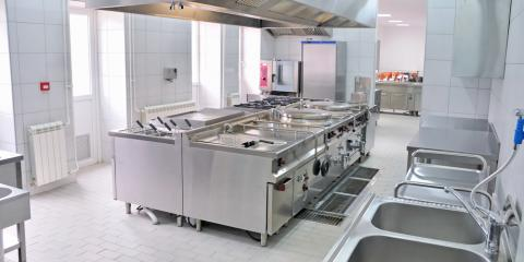 3 Common Types of Commercial Kitchen Equipment Layouts, Onalaska, Wisconsin