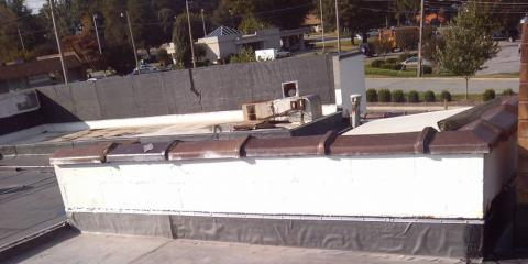 How to Take Care of Your Commercial Flat Roof, Kernersville, North Carolina