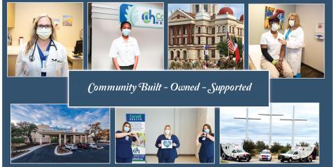 Coryell Health- Where You Always Feel Like Home, Gatesville, Texas