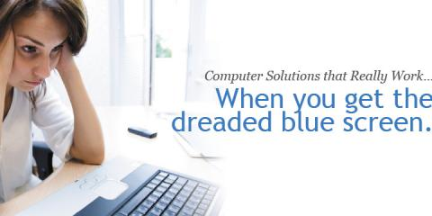 "Don't Let The ""Blue Screen of Death"" Get You Down—Call CT's Computer Repair Specialists Right Away! , Danbury, Connecticut"