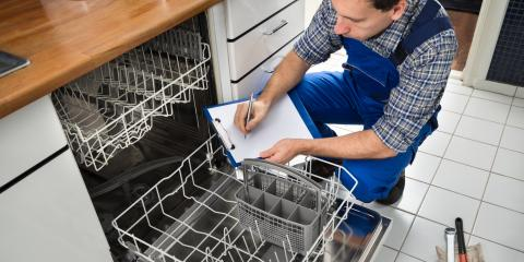 5 Common Dishwasher Problems, Concord, North Carolina