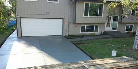 3 Benefits of Installing a Concrete Driveway, Anchorage, Alaska