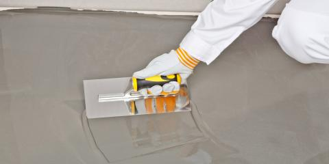 3 Benefits of Concrete Floors, Meriden, Connecticut
