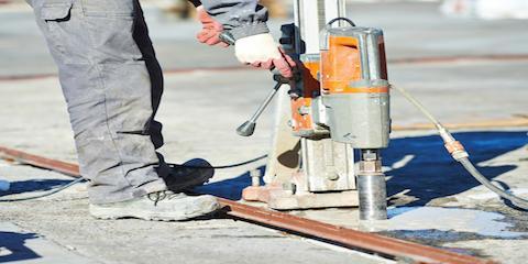 concrete cutting equipment