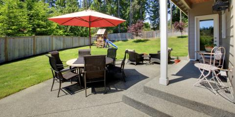 How to Care for Your Concrete Patio During Spring & Summer, New Haven, Connecticut