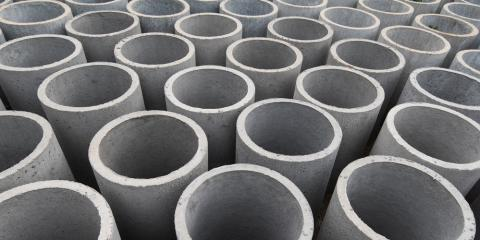 3 Common Uses of Concrete Pipe, Sherman, West Virginia