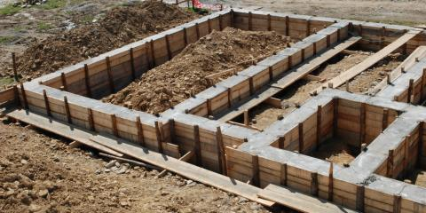 What Professionals Do When Pouring a Concrete Basement Foundation, High Point, North Carolina