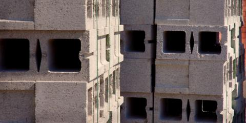 The Difference Between Cinder Blocks & Concrete Blocks, Mayfield, New York