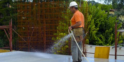 3 Tips for Curing Concrete Effectively, Caledonia, New York