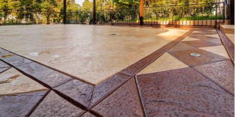 3 Top Uses of Stamped Concrete , Lincoln, Nebraska