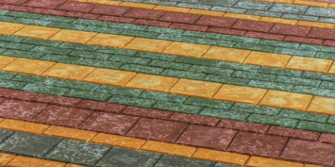 3 Aesthetic Uses for Colored Concrete, Chester, California