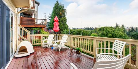 3 Signs Your Deck Needs to Be Refinished, Deep River, Connecticut