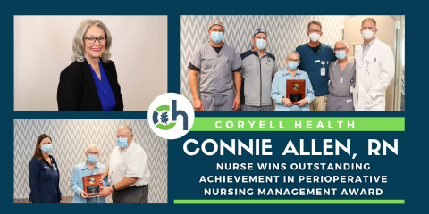 Coryell Health Nurse Wins National Nursing Award, Gatesville, Texas