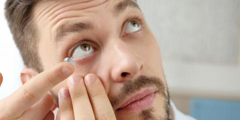 3 Steps to Take If a Contact Lens Gets Stuck in Your Eye, Rochester, New York