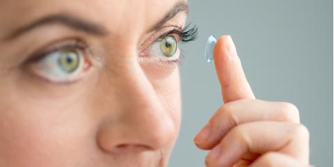 Contact Lenses FAQ for First-Time Wearers, Ellicott City, Maryland