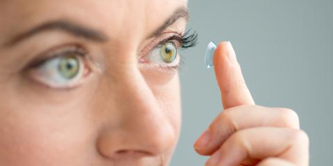 How to Care for Contact Lenses, Elizabethtown, Kentucky
