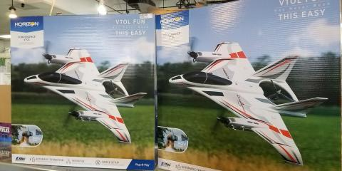 The Convergence VTOL is back in!, Tampa, Florida