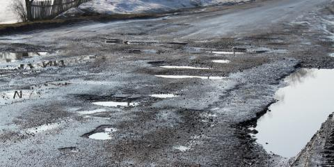 3 Reasons to Get Potholes Filled ASAP, Latrobe, Pennsylvania