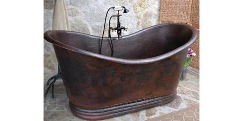 Relax in a Copper Clawfoot Tub- $100 Off Any Copper Bathtub, Scottsdale, Arizona
