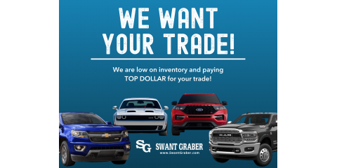 We Want Your Trade! , Barron, Wisconsin