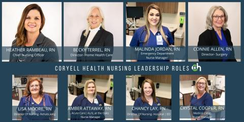 Meet Coryell Health Nursing Leadership!, Gatesville, Texas