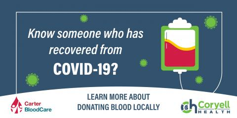 Know Someone Who Has Recoverd From COVID-19?, Gatesville, Texas