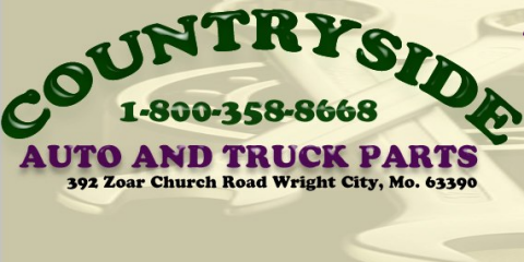 Get All Your Auto Salvage Parts at Countryside Auto & Truck Parts, Clark, Missouri