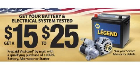 Get Your Battery & Electrical System Tested , Hazelwood, Missouri