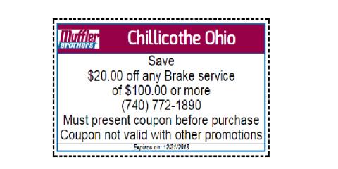Chillicothe Break Service Discount , Chillicothe, Ohio