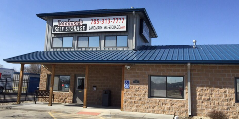 Landmark Self Storage, Storage Facility, Services, Manhattan, Kansas