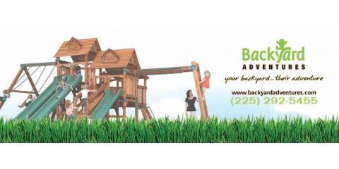 Backyard Adventures of Louisiana, Playground Equipment, Family and Kids, Baton Rouge, Louisiana