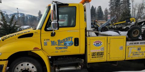 Mt. Burney  Towing, Towing, Services, Burney, California