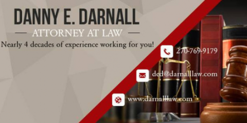 Danny E. Darnall, Attorney at Law, Attorneys, Services, Elizabethtown, Kentucky