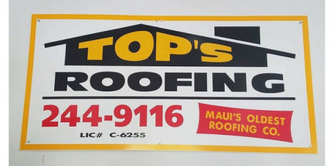 Top's Roofing Co Ltd, Roofing Contractors, Services, Wailuku, Hawaii