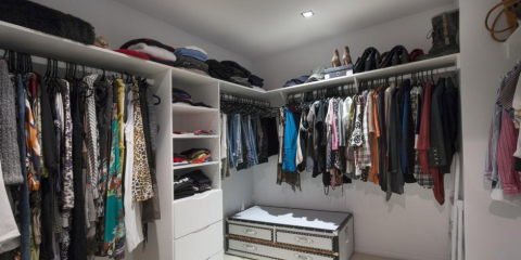 What to Store in a Walk-In Closet, Covington, Kentucky
