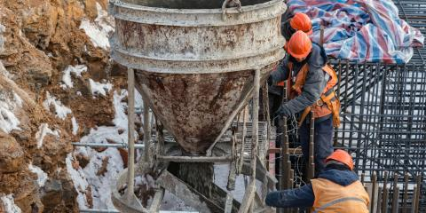 What to Know About Pouring Concrete in Cold Weather, Ludlow, Kentucky