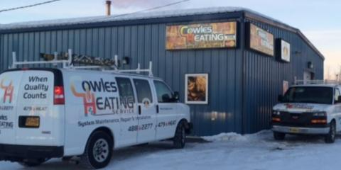 Cowles Heating Service, Heating, Services, North Pole, Alaska
