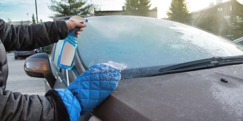 How to Safely Defrost a Windshield, O'Fallon, Missouri