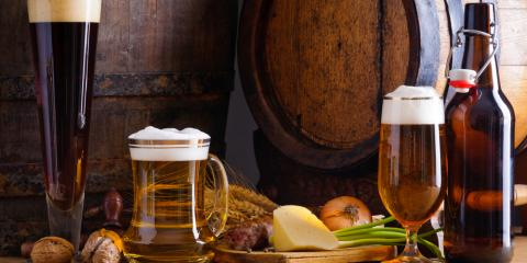 Top 5 Craft Beer Flavors & Complementary Foods, Cincinnati, Ohio