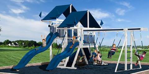 4 Ways a Swing Set Adds Value to a Home, Penfield, New York