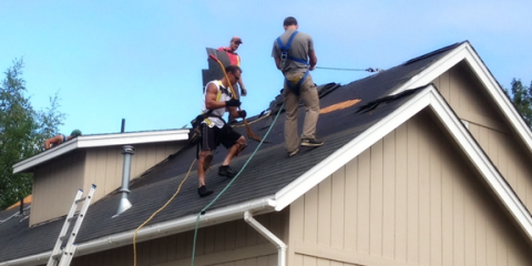 5 Roof Safety Tips From The Roofing Contractors At Chinook Roofing,  Anchorage, Alaska